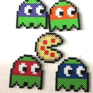 Perler Beads Ninja Turtle Pac Man